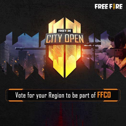 Free Fire City Open tournament