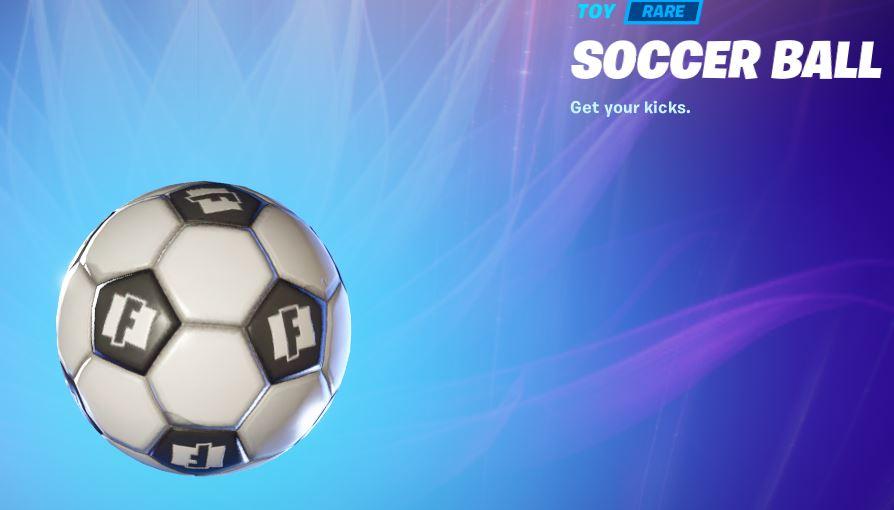 soccer ball in creative Fortnite