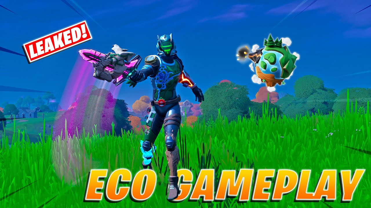 Fortnite Eco Skin Now Available in Shop