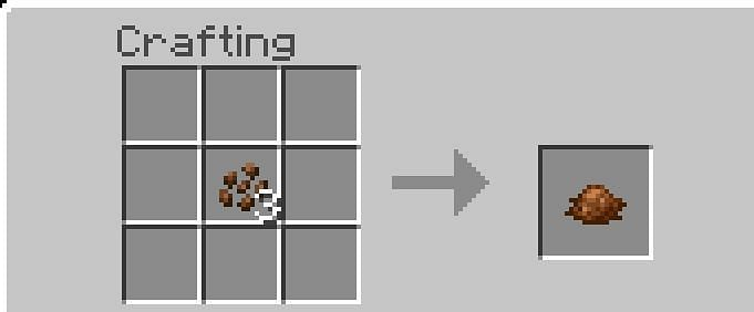 How to get Brown Dye in Minecraft: Brown Dye is a brown dye that can be used to recolor Items and Blocks. It has taken the role of Cocoa Beans in the