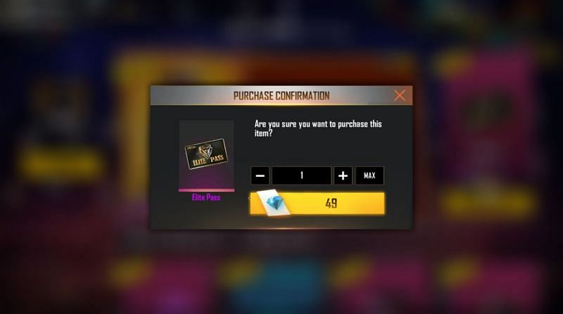 Free Fire Elite Pass in Low Price