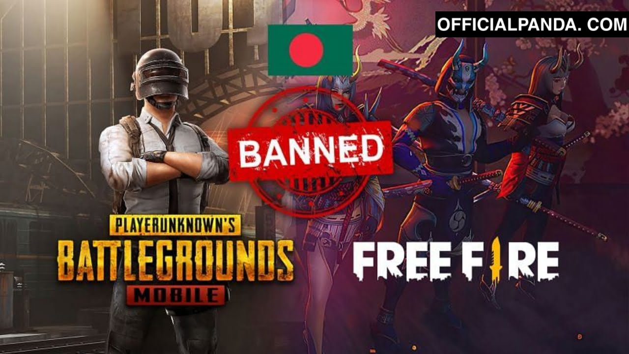 PUBG Mobile and Free Fire Ban in Bangladesh