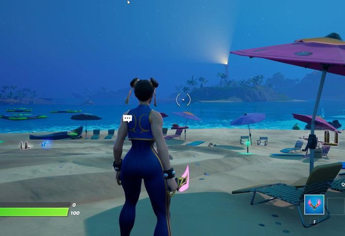 Fortnite Place Boomboxes in Believer Beach