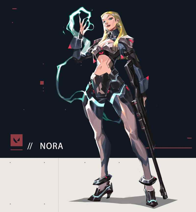 Agent Nora Valorant Leaks