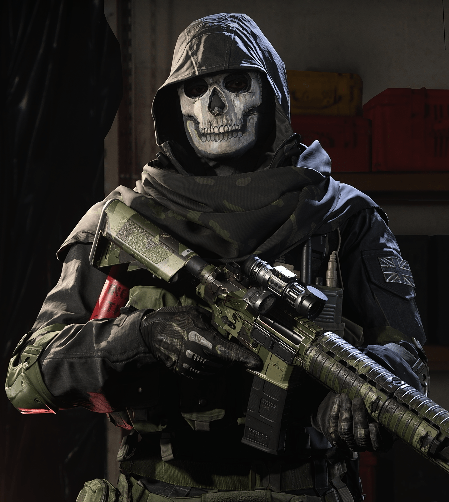Ghost Character in Call of Duty ( COD)