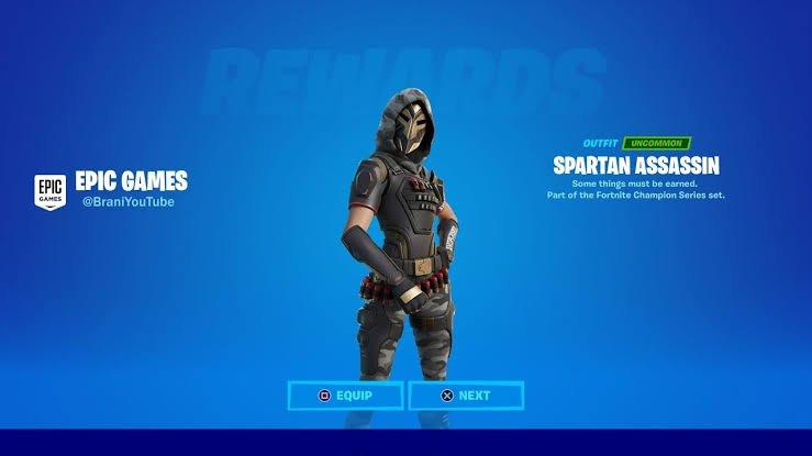 Spartan Assassin Skin in Fortnite