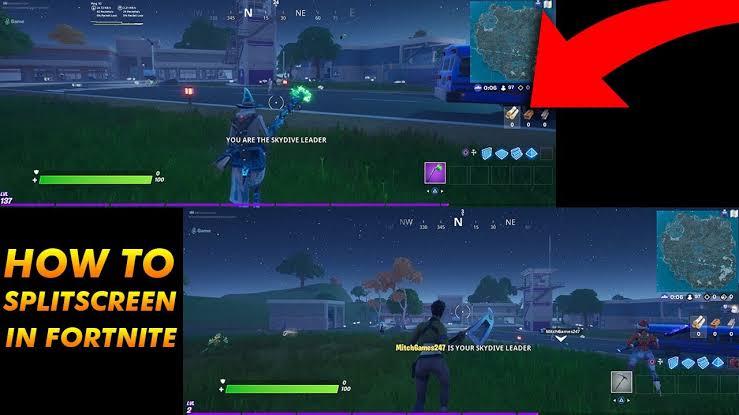How to Play Fortnite on Split Screen