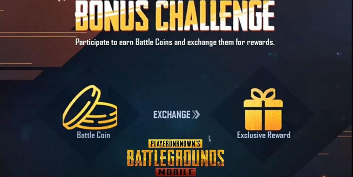 Bonus Challenge Coming in BGMI Confirmed