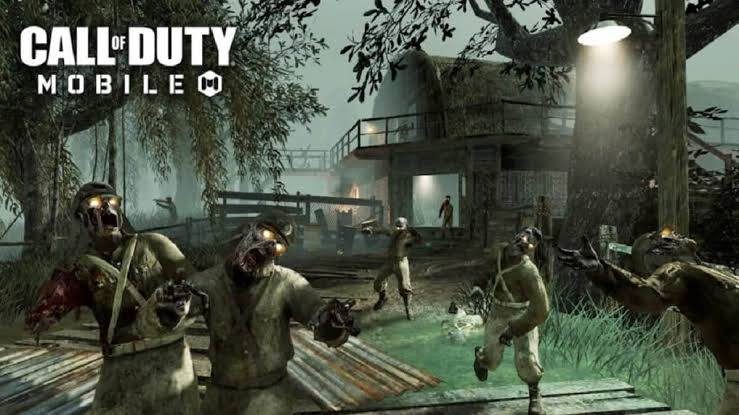 Zombies Come Out in COD