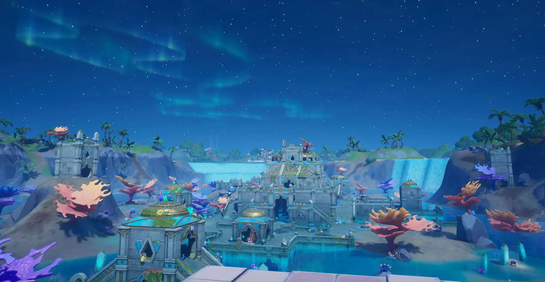 New Coral Castle Fortnite Map Change