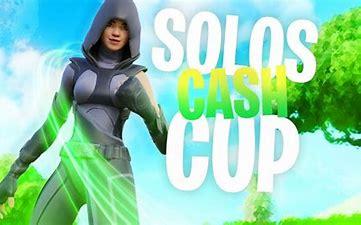 Solo Cash Cup Tournament In Fortnite
