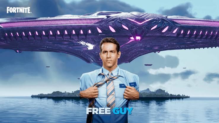 Fortnite's Latest Character Is Free Guy's Buff Ryan Reynolds