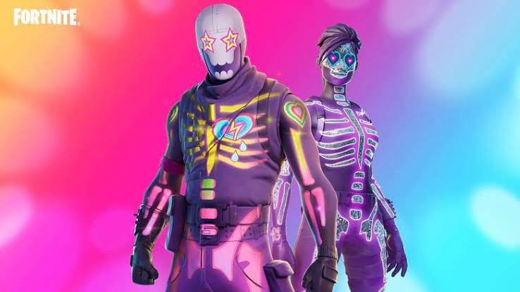 Party Trooper is Rare Outfit in Fortnite
