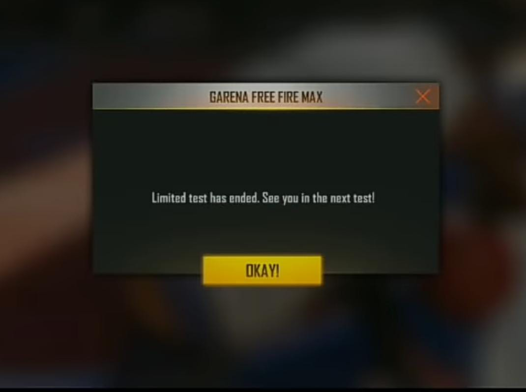 Free Fire Max Not Opening Problem
