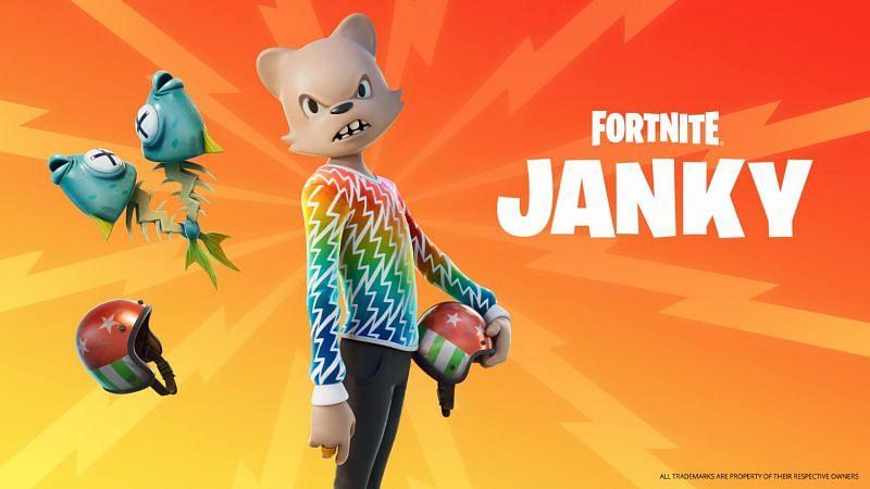 Janky bundle Outfit in Fortnite Season 8