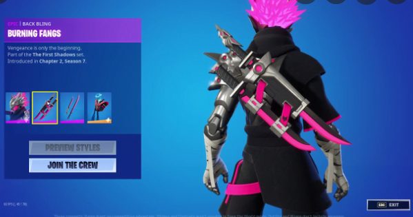 Fortnite The First Shadow Crew