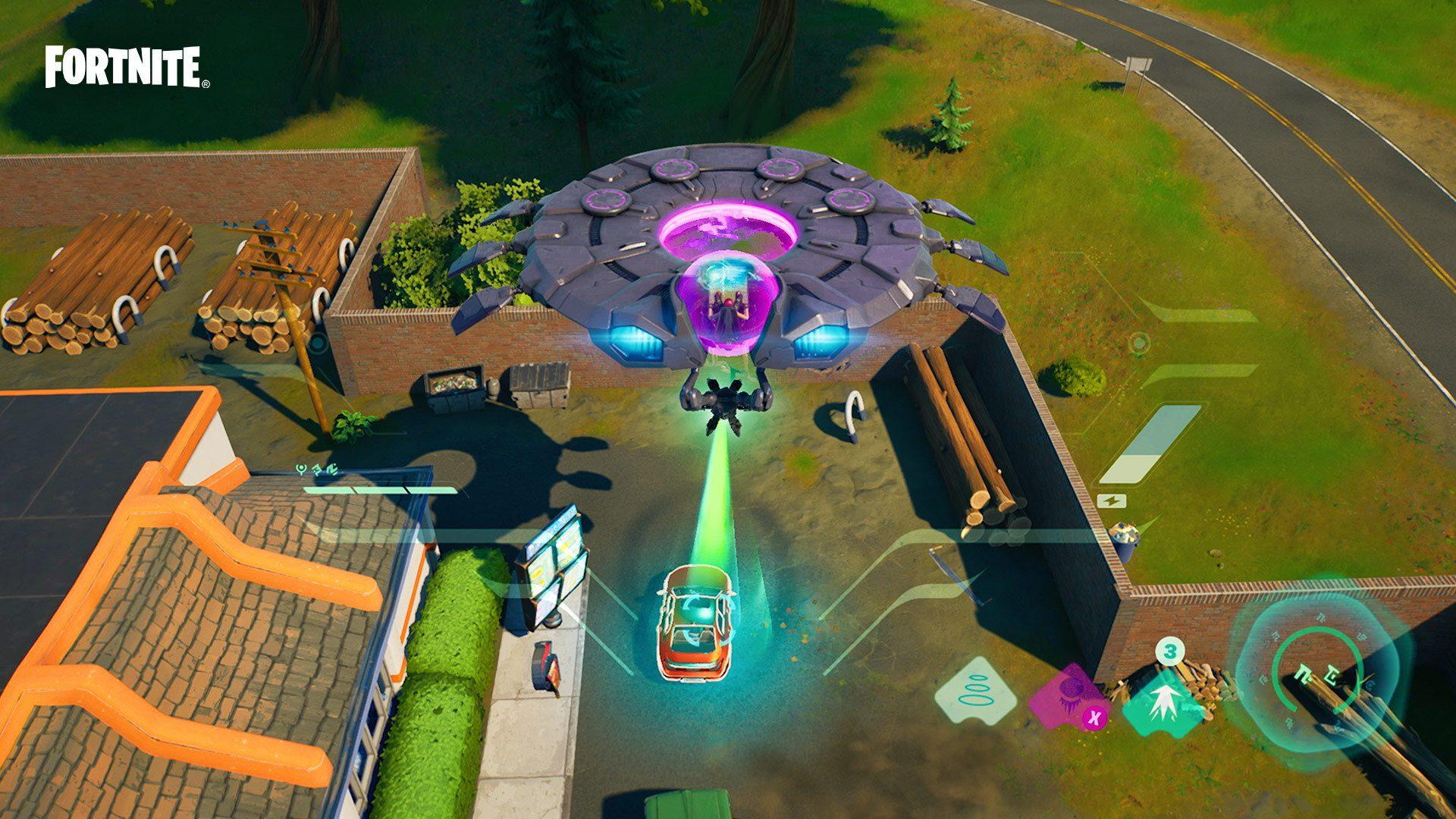 Destroy 3 Alien Eggs in Fortnite Week 14