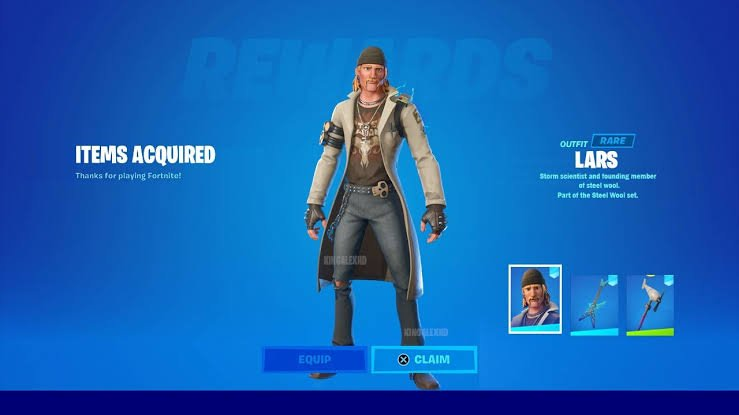 Lars outfit in Fortnite