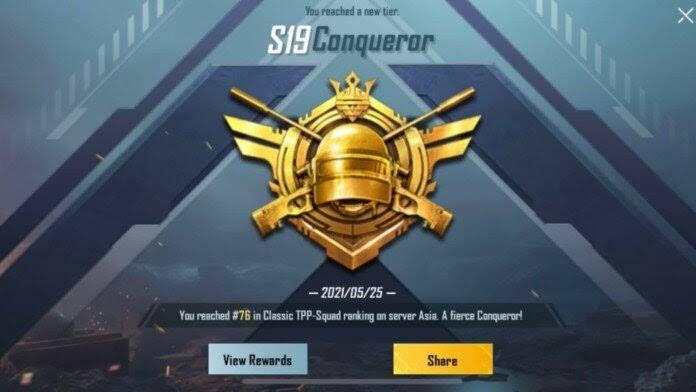 How to Push Conqueror in C1S2 M3 in BGMI