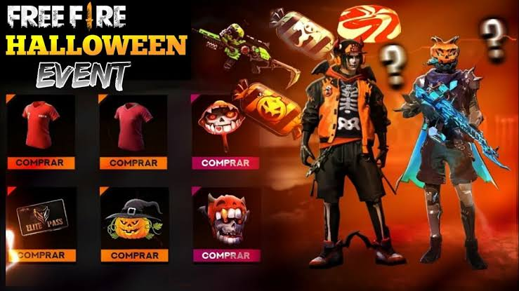 Halloween event in Free Fire