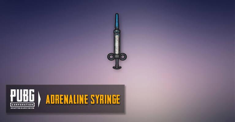 Adrenaline Syringe BGMI task