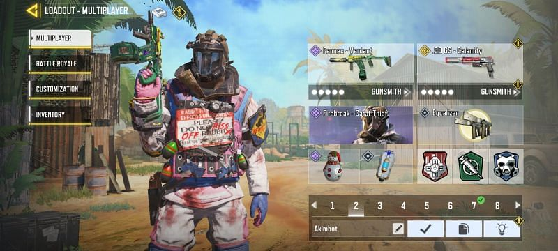 Tactical Equipment in Crash Refresh COD Mobile