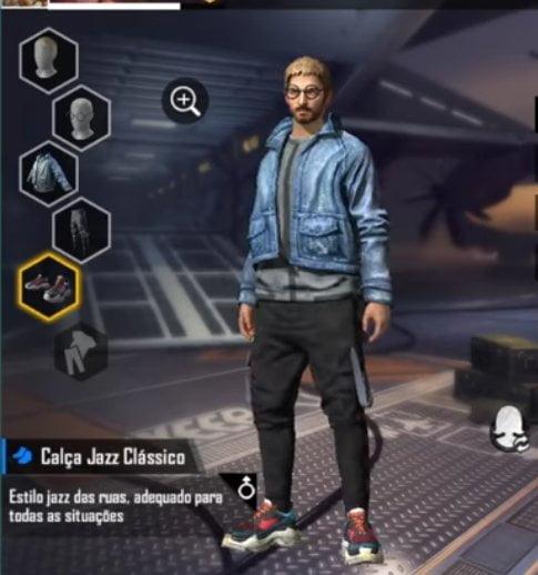 Jazz Pants Free Fire Redeem Code