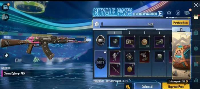 M4 Royale Pass Release Date in BGMI