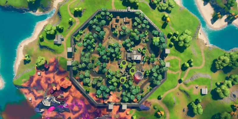 Stealthy Stronghold in Fortnite Chapter 2 Season 8